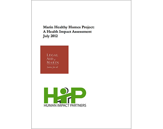Marin Healthy Homes Project: A Health Impact Assessment