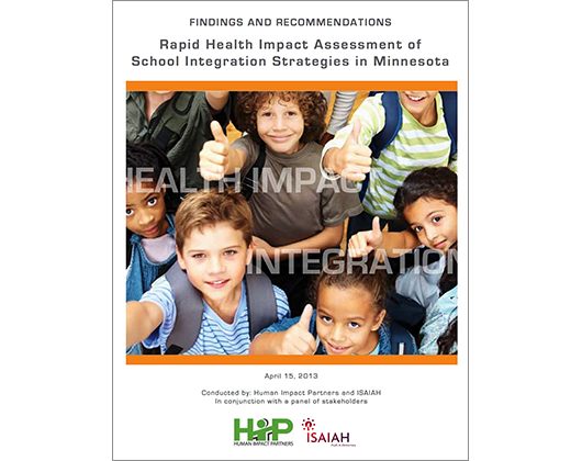 Rapid HIA of School Integration Strategies in Minnesota