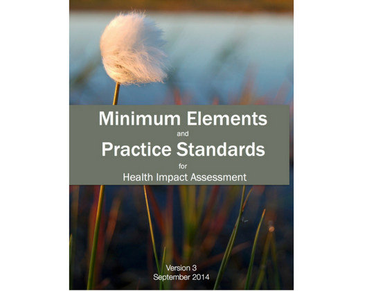 HIA Minimum Elements and Practice Standards for HIA