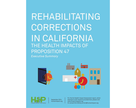 Rehabilitating Corrections in California: The Health Impacts of Prop 47 (Case Story)