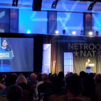Pamela Chomba at Netroots Nation 2017
