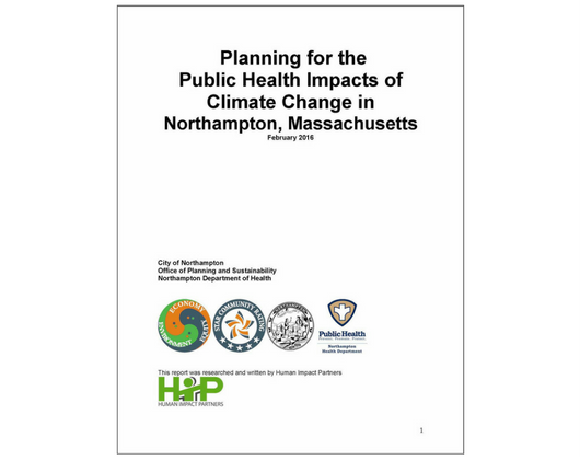 Planning for the Public Health Impacts of Climate Change in Northampton, Massachusetts