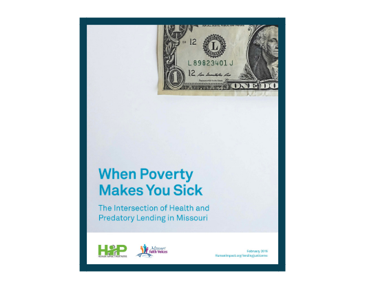 When Poverty Makes You Sick: The Intersection of Health and Predatory Lending in Missouri