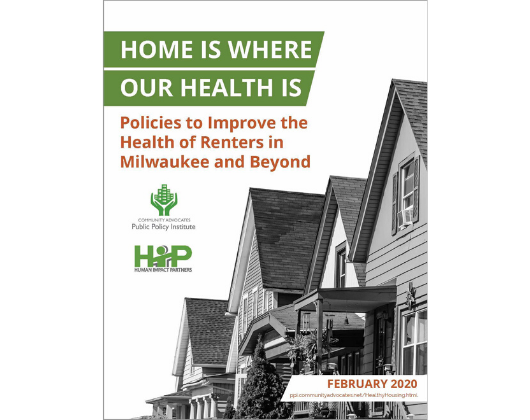Home is Where Our Health Is: Policies to Improve the Health of Renters in Milwaukee and Beyond