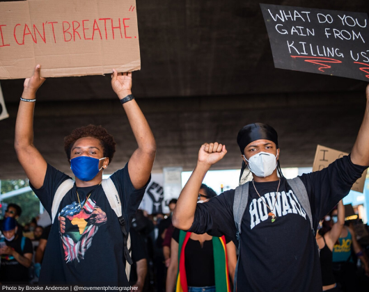 How Health Departments Can Advance Safety and Health in Protests, During a Pandemic