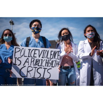 Police Violence is a Public Health Crisis