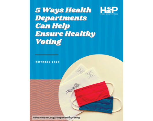5 Ways Health Departments Can Help Ensure Healthy Voting