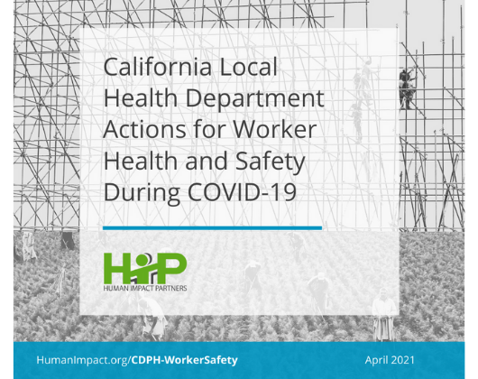 California Local Health Department Actions for Worker Health and Safety During COVID-19