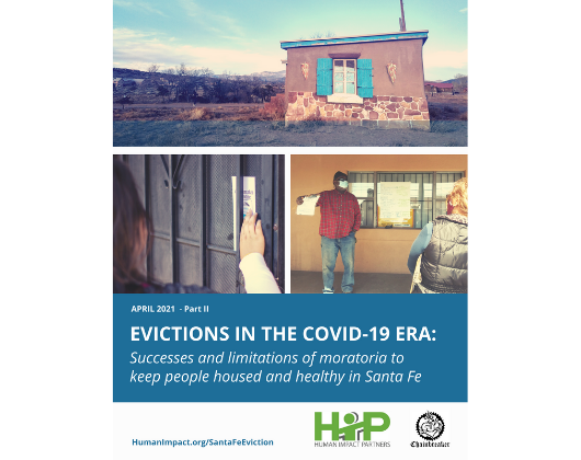 Evictions in the COVID-19 Era: A threat to family and community health in Santa Fe
