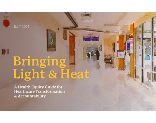 Bringing Light & Heat: An Equity Guide for Healthcare Transformation and Accountability